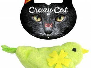 Crazy Cat Bird vol met Madnip