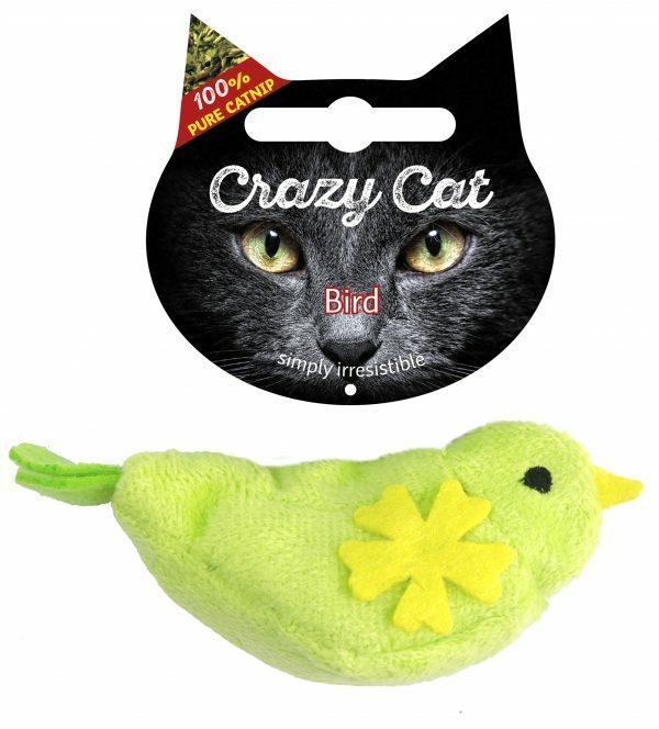Crazy Cat Bird vol met Madnip