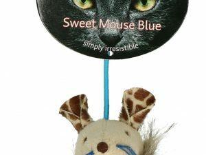 Crazy Cat Sweet Mouse Blue met 100% Madnip