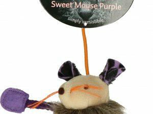 Crazy Cat Sweet Mouse Purple met 100% Madnip
