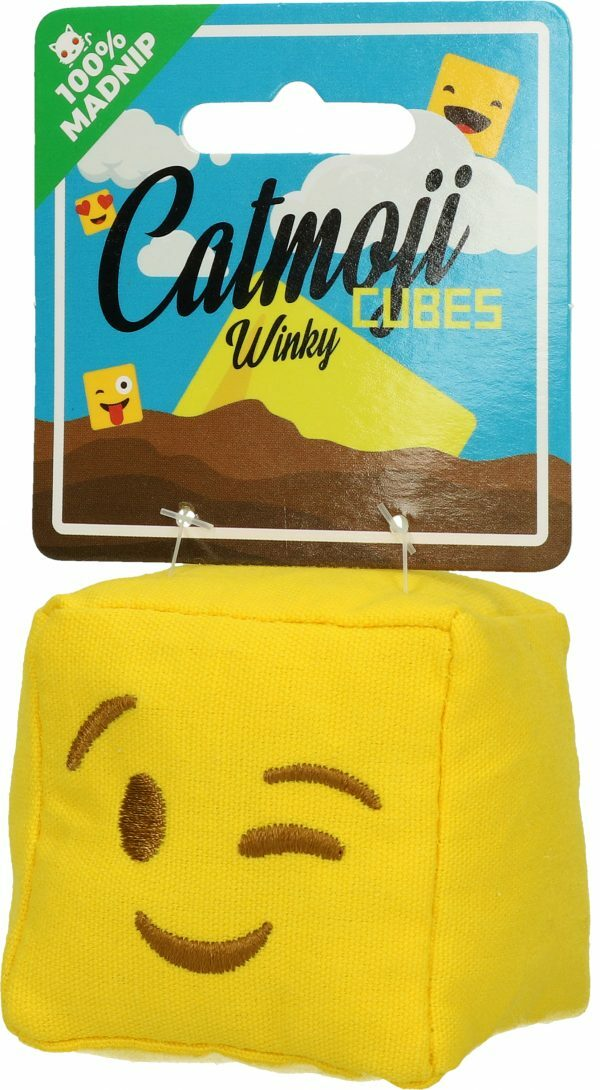 Emoji Cat Cube Winky (met MadNip)
