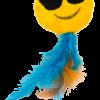 Emoji Cat Sunny (met MadNip)
