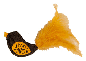 JW Cataction Bird Toy assorti