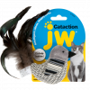 JW Cataction Black and White Bird Toy