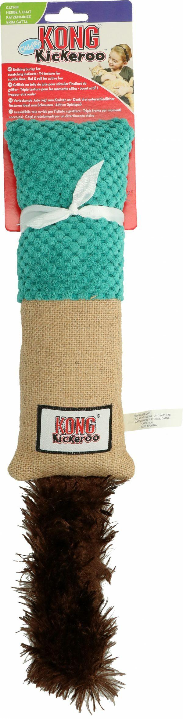 KONG Cat Kickeroo Cuddler (Ass. Colours)