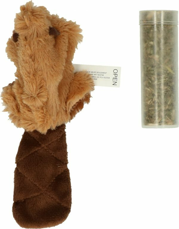 Kong Cat Refillable Catnip Beaver