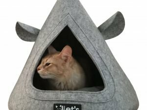 Let's sleep Pet Cave TeePee Grijs