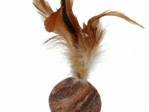 Wooly Luxury Feather Dream Ball Brown