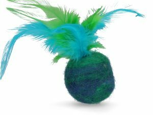 Wooly Luxury Feather Dream Ball Green