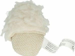 Wooly Luxury Slipper Wit