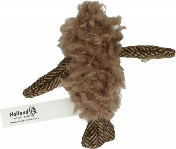 Wooly Luxury Vogel Bruin