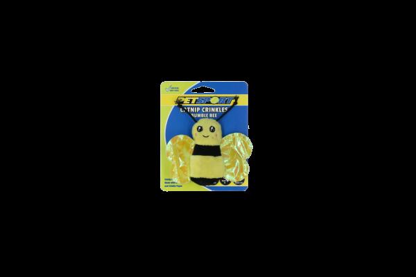 Catnip Crinkles - Bumble Bee