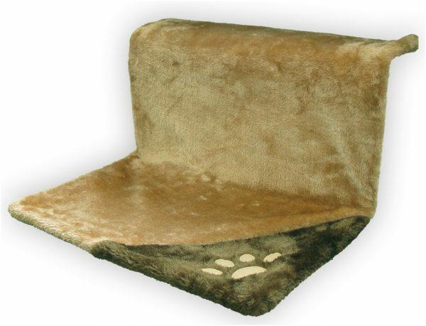 Hangmat rechthoekig beige/bruin 46x29x23 cm