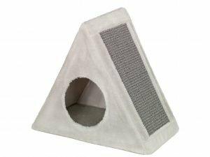 p18843  14710 krabhuis driehoekig tri grijs 45x25x48cm 1