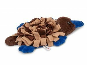 Speelgoed hond Snuffelplush Vogelbekdier 30cm