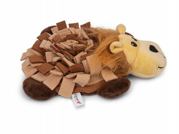 Speelgoed hond Snuffelplush Leeuw 24cm