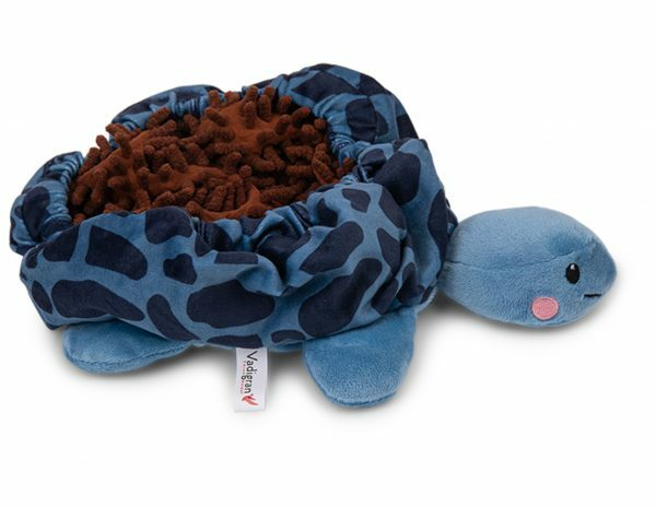 Speelgoed hond Snuffelplush Schildpad 25cm