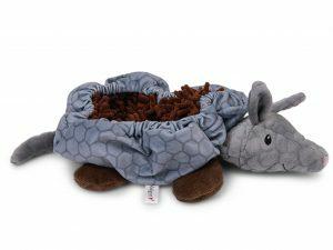 Speelgoed hond Snuffelplush Gordeldier 33cm