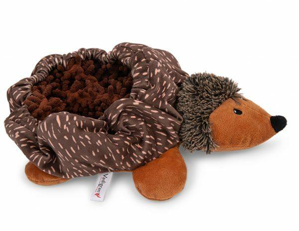 Speelgoed hond Snuffelplush Egel 30cm