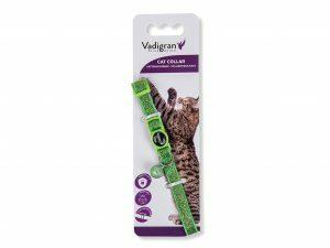 Halsband kat Glitter groen 20-30cmx10mm