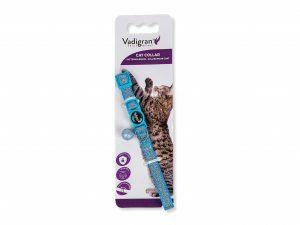 Halsband kat Glitter turkoois 20-30cmx10mm