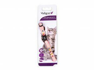 Halsband kat Kitty Cat roze 16-25cmx8mm