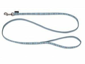 Leiband hond nylon Schotse Ruit blauw 120cmx10mm S