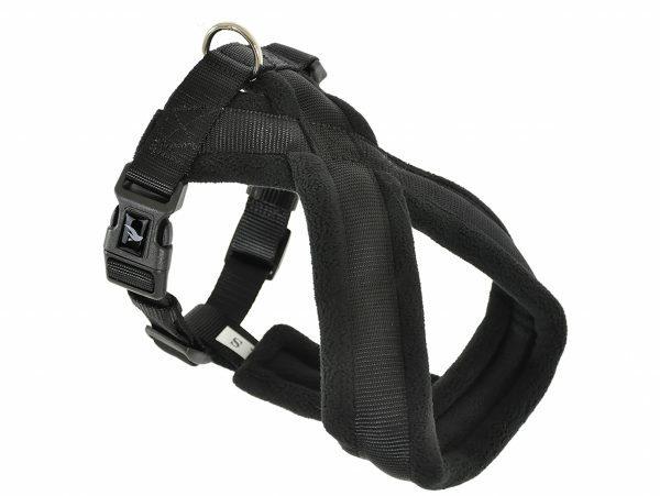 Harnas Comfort Nylon zwart 60cm L