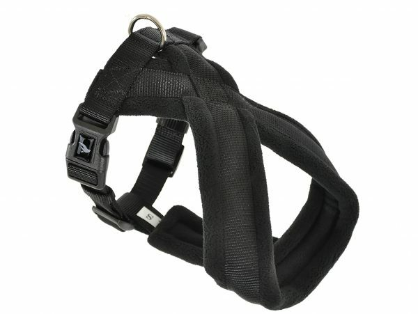 Harnas Comfort Nylon zwart 100cm XXXL