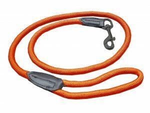 Leiband Classic Nylon rond oranje 120cmx9mm M