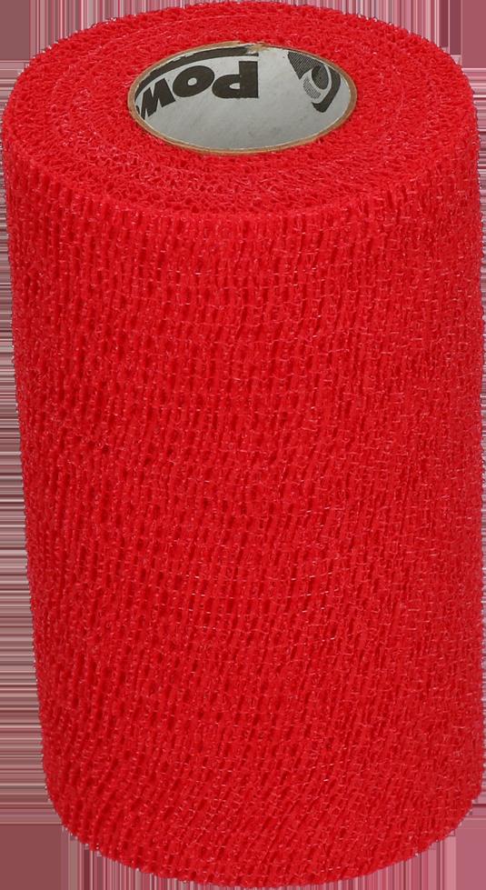Bandage Equine Powerflex rood 10cm