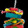 Birrdeeez Parakeet Toy Wood straight 26cm