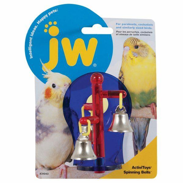 JW Activitoy Spinning Bells