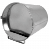Pluimvee drinkemmer (gegalv) 12 liter