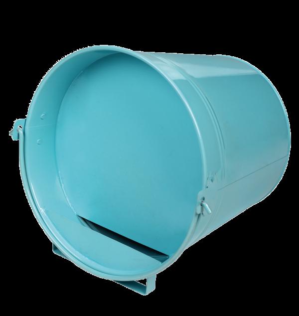 Pluimvee drinkemmer (gegalv) 12 liter blue