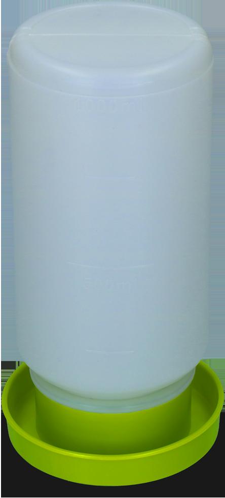Pluimvee drinktoren 1 liter groen