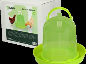 Pluimvee drinktoren 1,5 liter green lemon