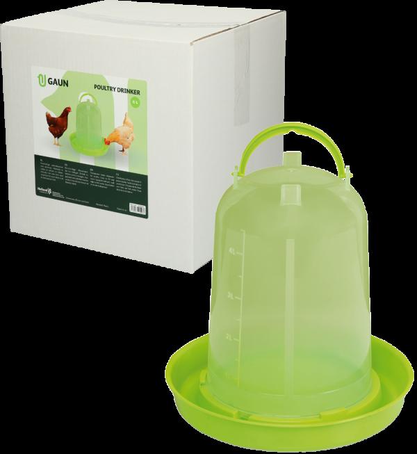 Pluimvee drinktoren 5 l green lemon