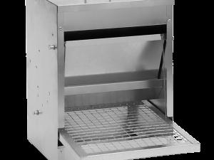 Pluimvee voerstation 10 kg gegalv. metaal
