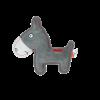 Doggy Doodles Donkey donkergrijs