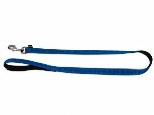 Leiband nylon Soft Grip blauw 120cmx10mm S