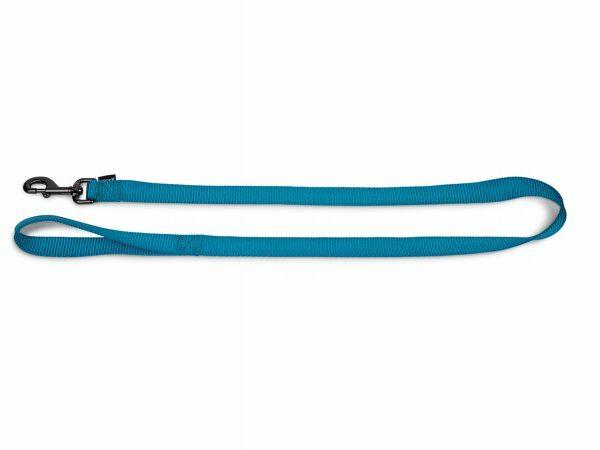 Leiband Classic Nylon turquoise 120cmx25mm XL