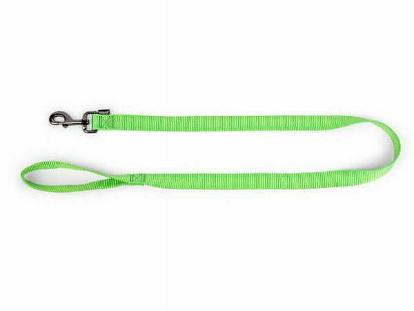 Leiband Classic Nylon groen 120cmx15mm M