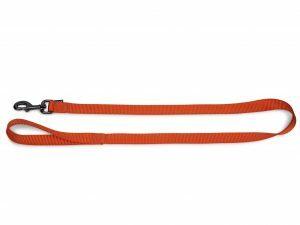 Leiband Classic Nylon oranje 120cmx20mm L