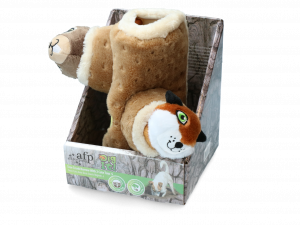 AFP Dig it - Tree Trunk Burrow - S with 2 cute toys