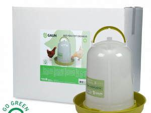 Pluimvee drinktoren 10 l Bio green lemon