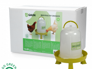 Pluimvee drinktoren 3 l Bio green lemon op pootjes