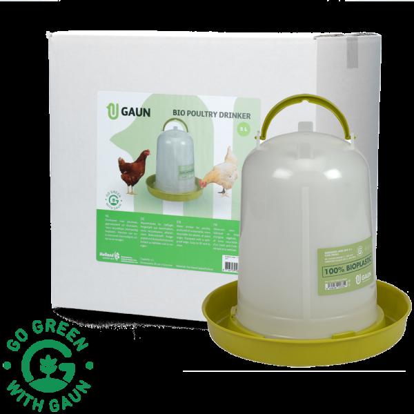 Pluimvee drinktoren 8 l Bio green lemon