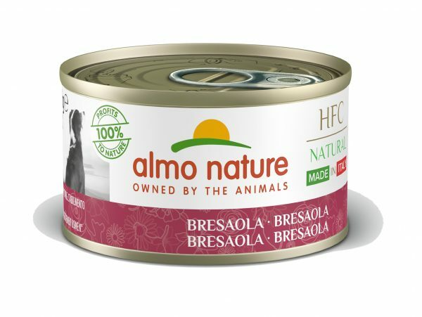 HFC Dogs 95g Natural - Bresaola