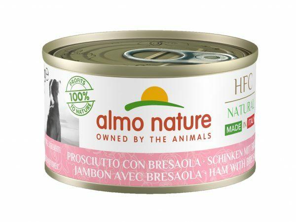 HFC Dogs 95g Natural - Ham met Bresaola